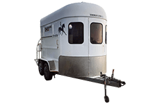 Horse float trailer